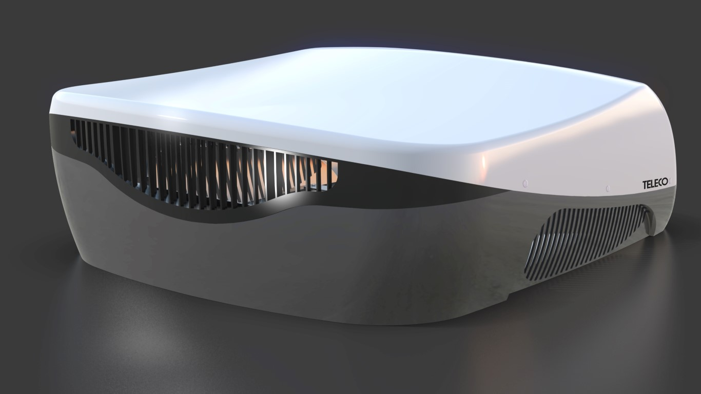 Clima E Van The Smallest Roof Mounted Air Conditioner On